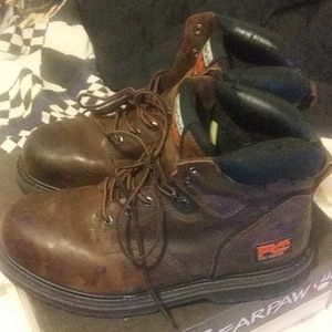 Timberland Pro steel toe workboots